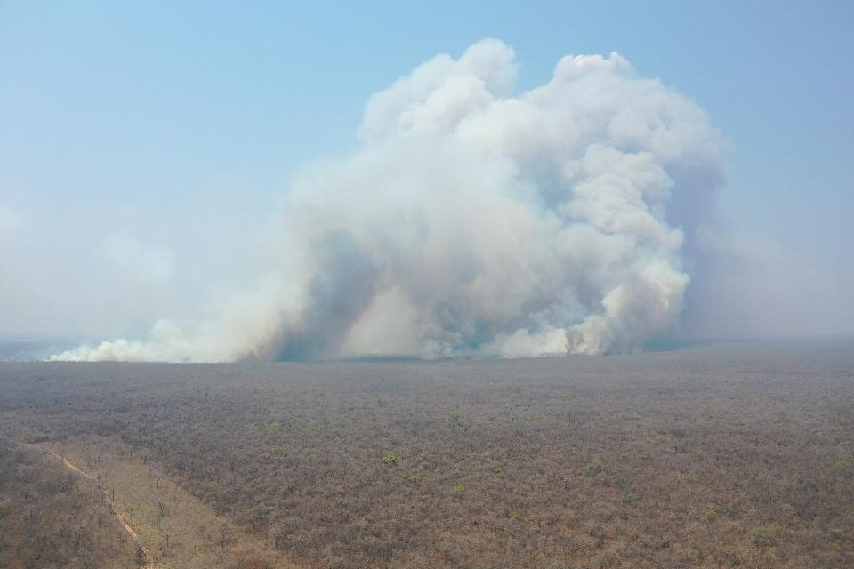 No queda poco fuego en Roboré
